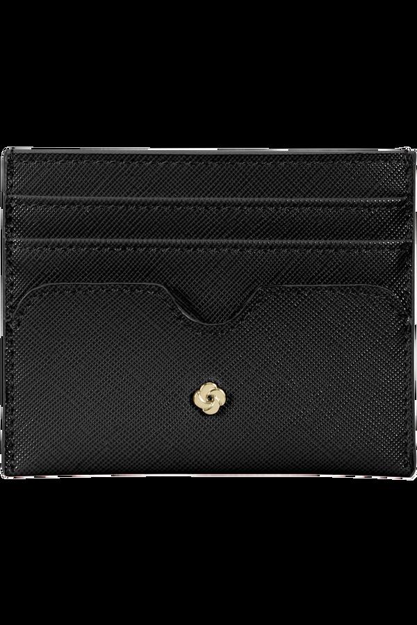 Samsonite Wavy Slg 337 - 6 Credit Card Holder  Nero
