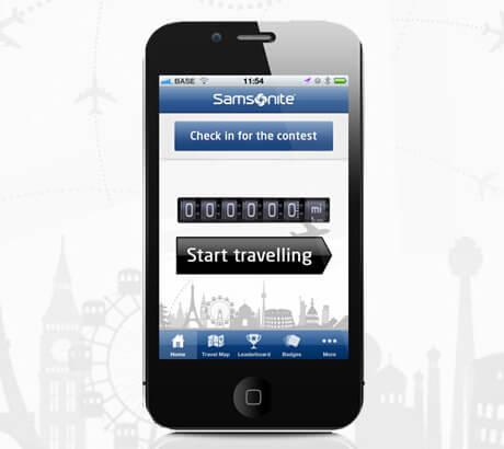 Samsonite Travel Miles App