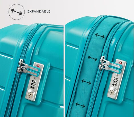 Expandable Luggage