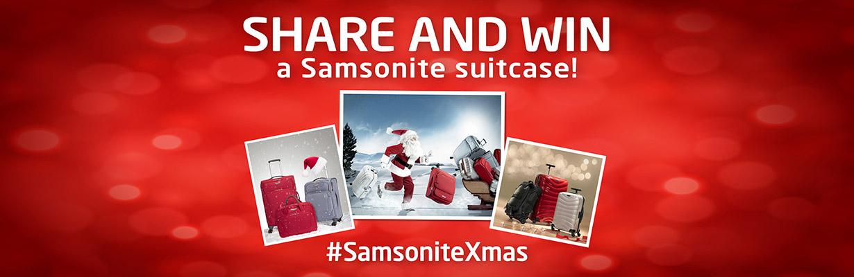 Samsonite Xmas contest