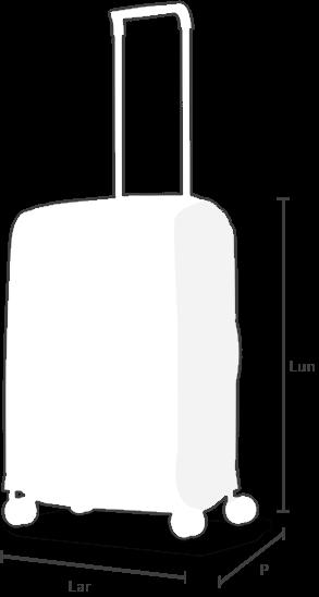 Le dimensioni del bagaglio da cabina
